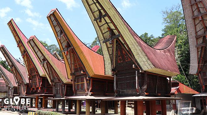Sulawesi Tana Toraja Tongkonan Häuser