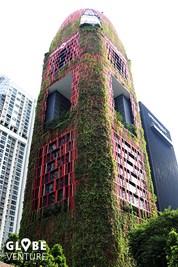 Vertikaler Garten Singapur