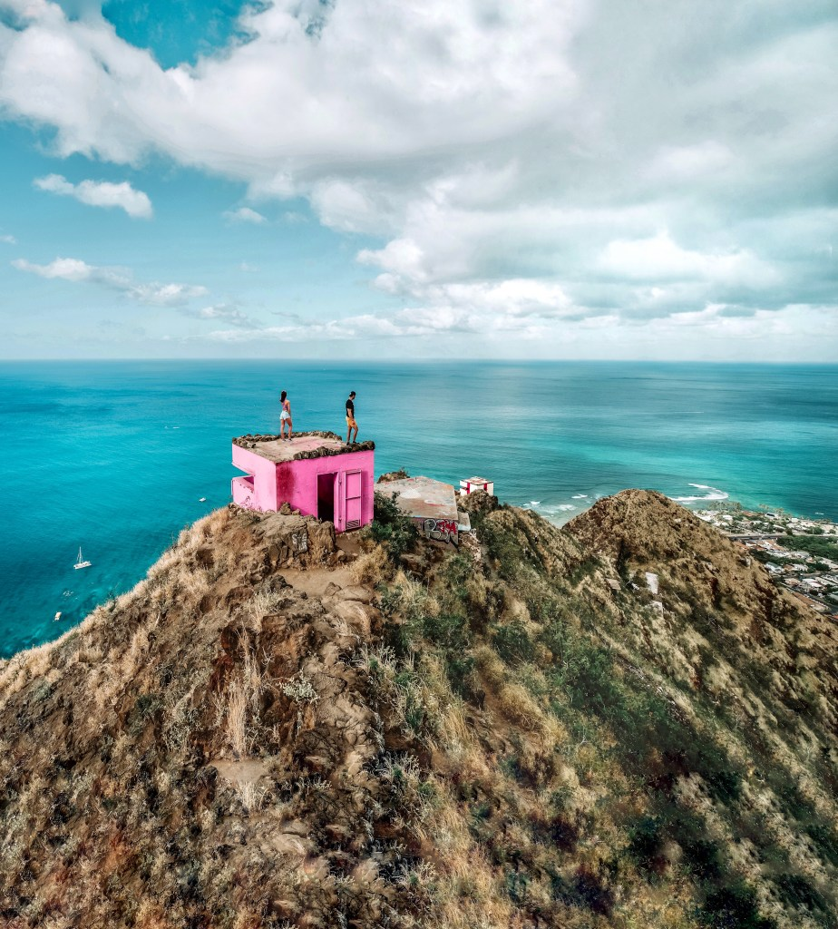 Pink Pillbox Oahu