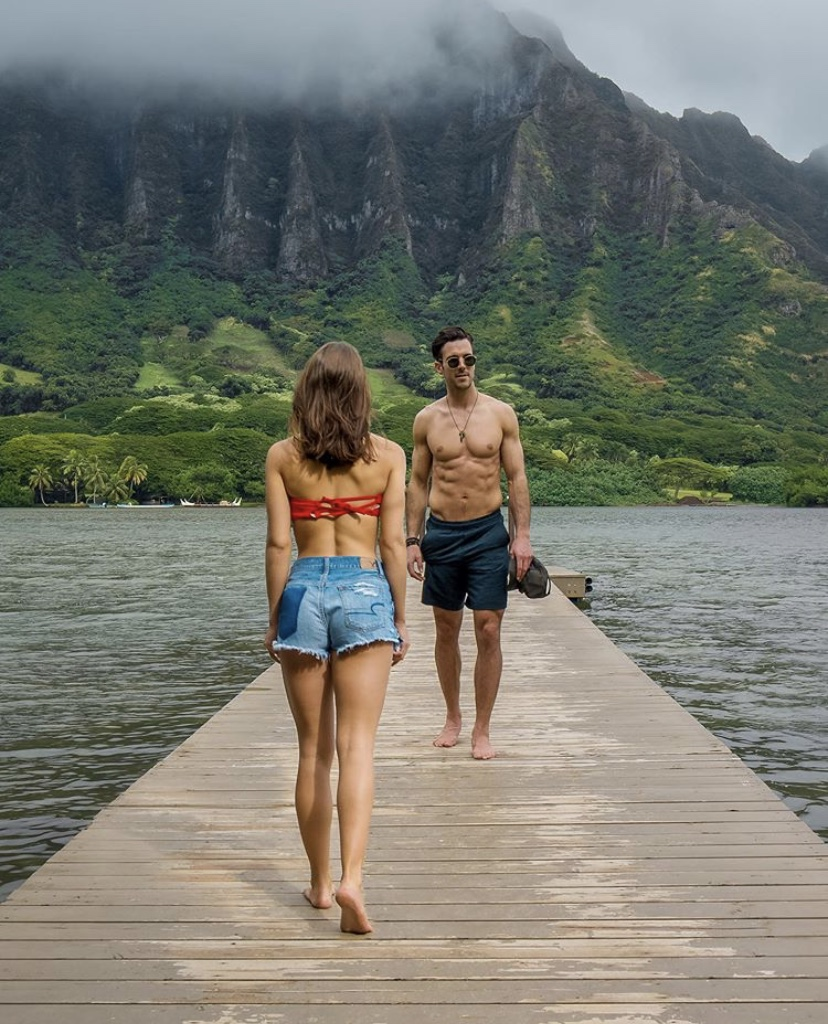 Secret Dock in Oahu