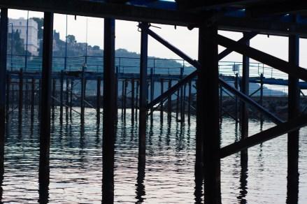 Waterfront docks in Sorrento