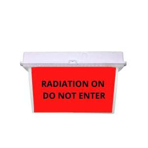 RADIATION ON DO NOT ENTER