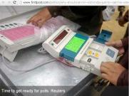 Elction Voting Machine (EVM) is used in India to cast vote
