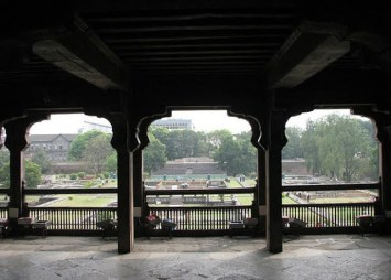 Top floor of Shaniwar Wada