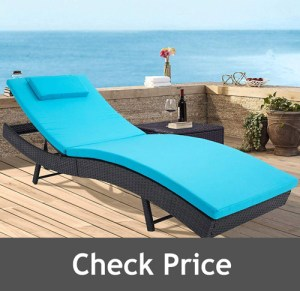 Incbruce Outdoor Adjustable Chaise Lounge Chair