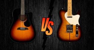 Electric vs Acoustic Guitar For Beginner