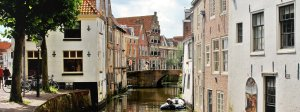 Old Dutch Cities in the Green Heart of Holland