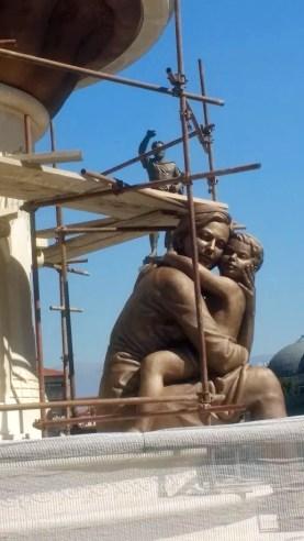 Statue in Skopje