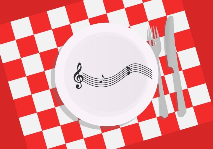 Dinner in Croatia