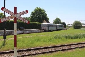 Oude trein op Zeeuws Spoor
