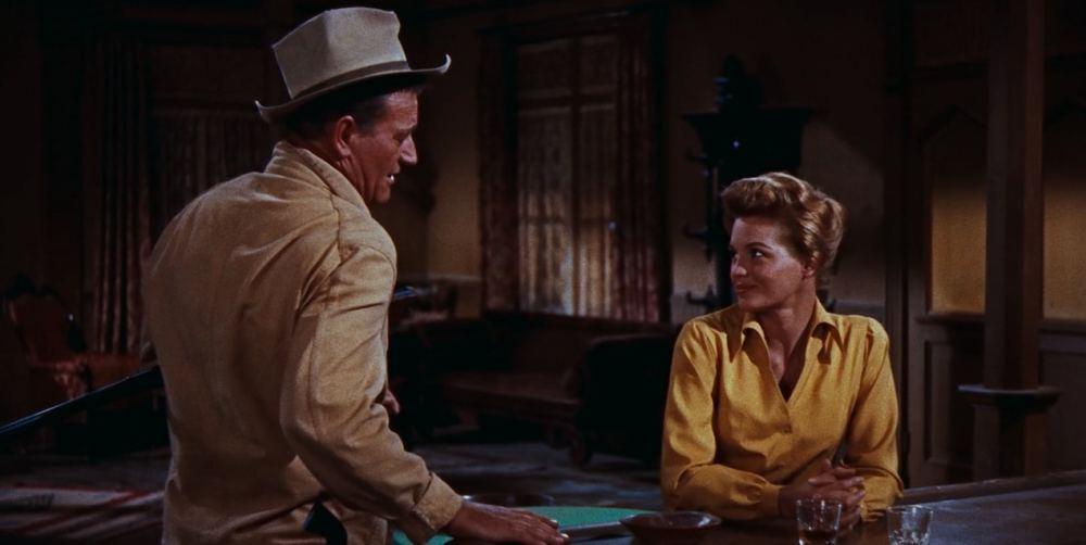 Rio Bravo - John Wayne & Angie Dickinson