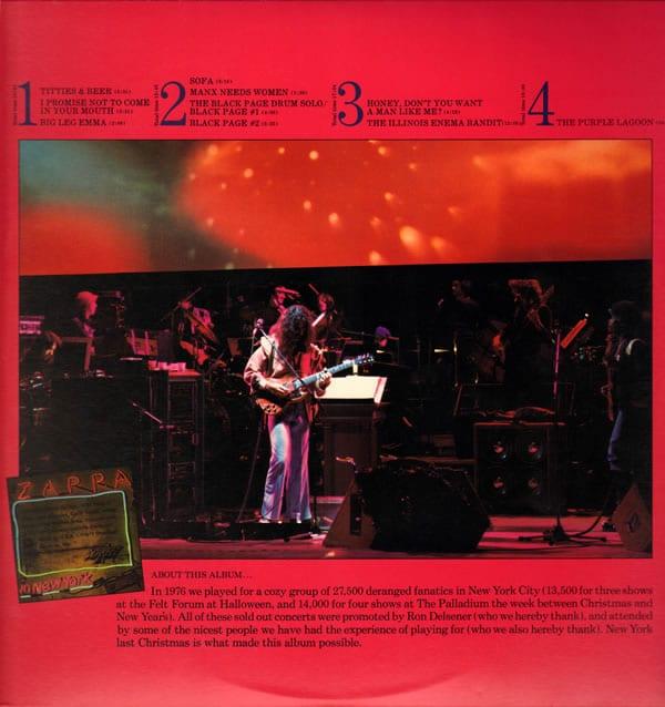 Zappa in New York LP