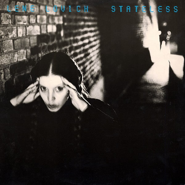 Lene Lovich - Stateless cover
