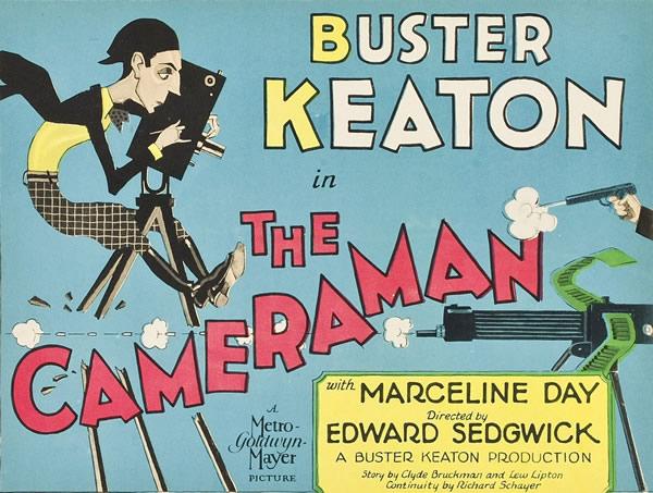 Buster Keaton The cameraman