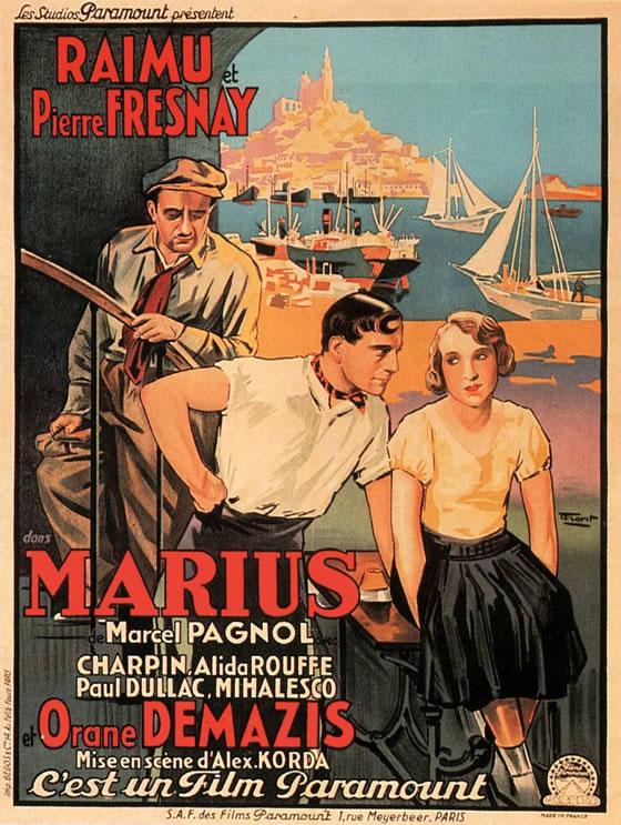 Affiche Marius de Korda