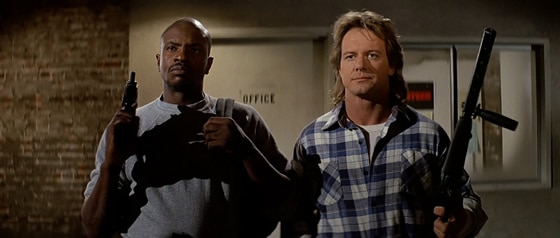 Invasion Los Angeles - Keith David & Roddy Piper