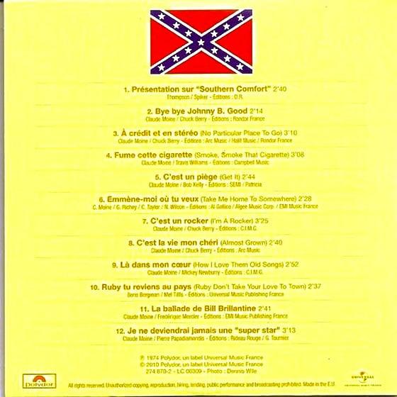 Rocking in Nashville track listing