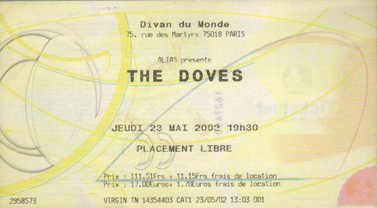 The Doves au Divan du Monde