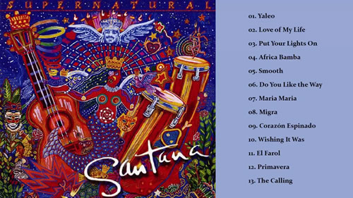 Carlos Santana Supernatural