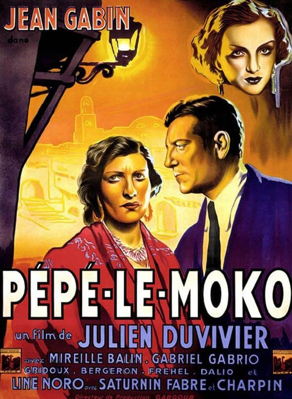 Affiche cinéma Pépé Le Moko
