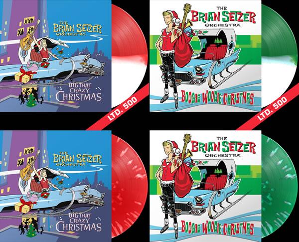 Sortie des Christmas Vinyl de Brian Setzer