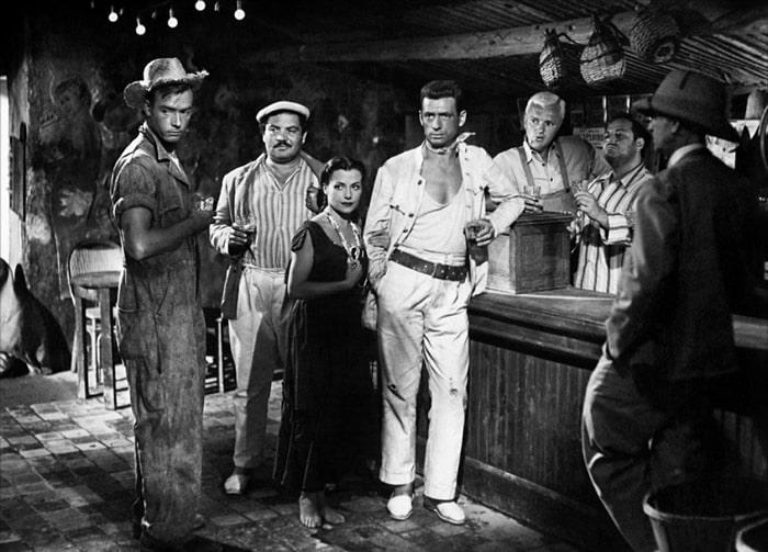 Corsario Negro, Yves Montand et sa bande
