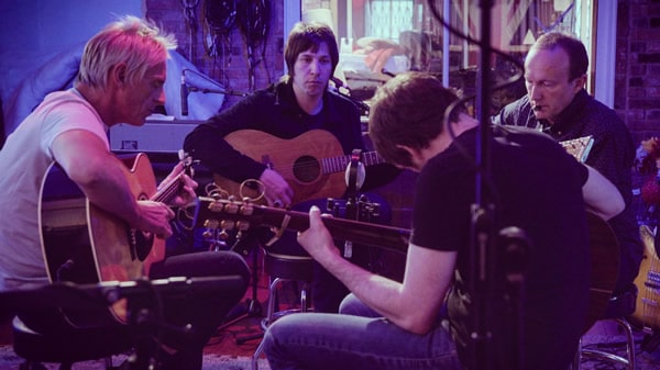 Paul Weller in studio
