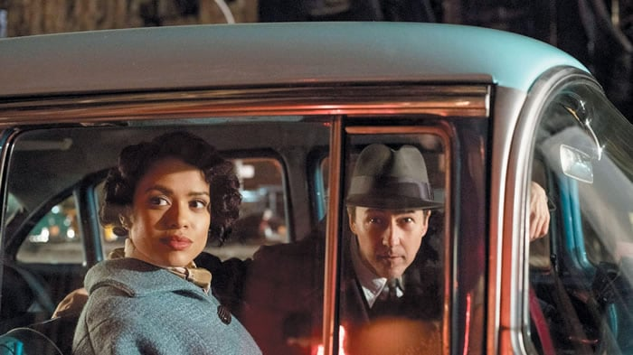 Gugu Mbatha-Raw et Edward Norton