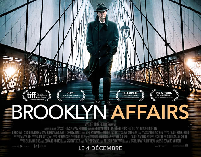 Brooklyn Affairs de et avec Edward Norton