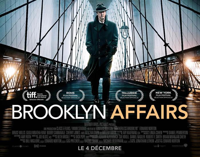 Brooklyn Affairs de et avec Edward Norton
