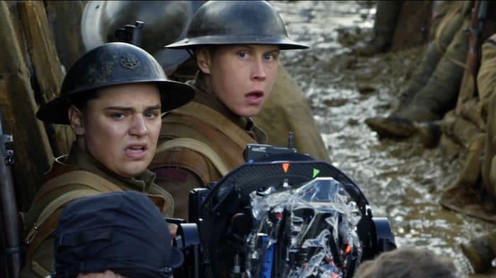 Deux soldats dans le film de Sam Mendes
