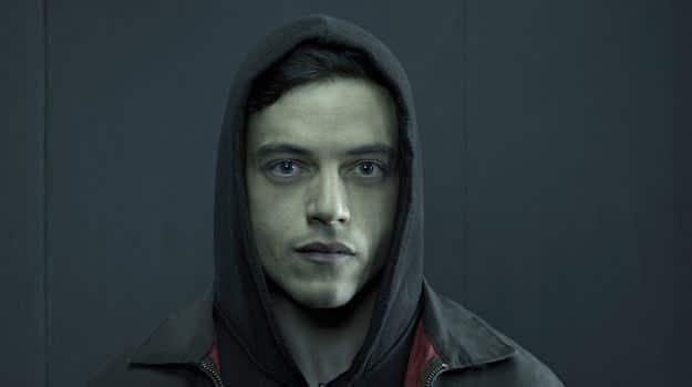 Rami Malek dans Mr Robot