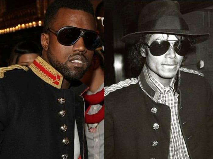 Kanye West et Michael Jackson