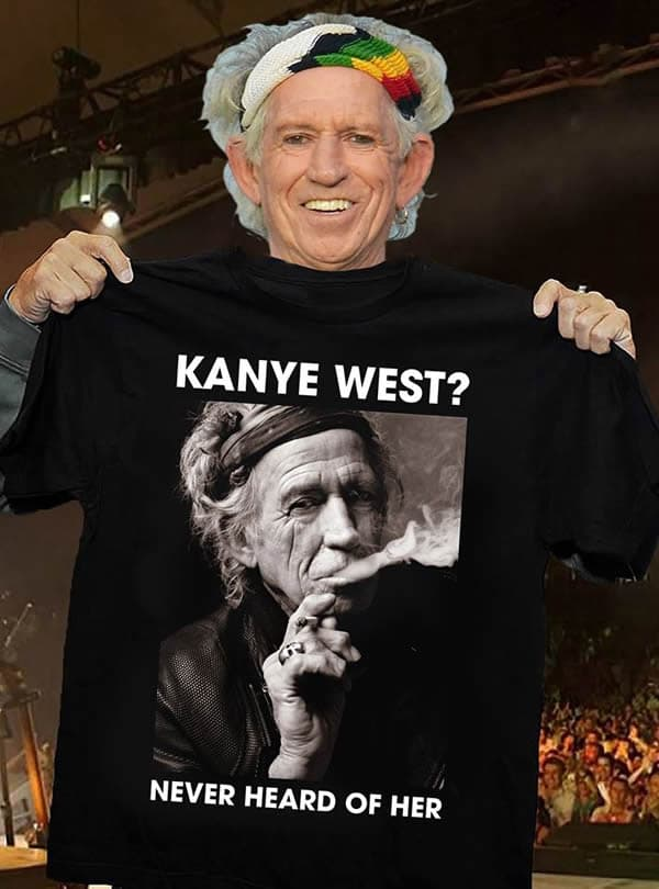 Keith Richards, Kanye West