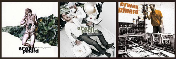 Les albums d'Erwan Pinard
