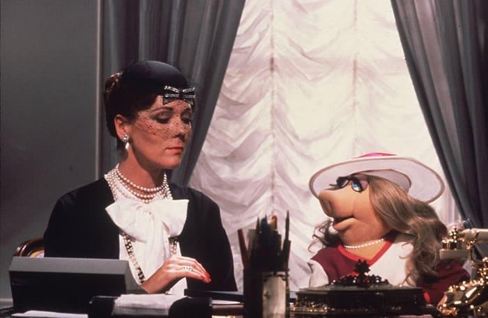 Diana et Miss Piggy