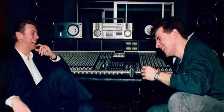 Jérôme Soligny et David Bowie