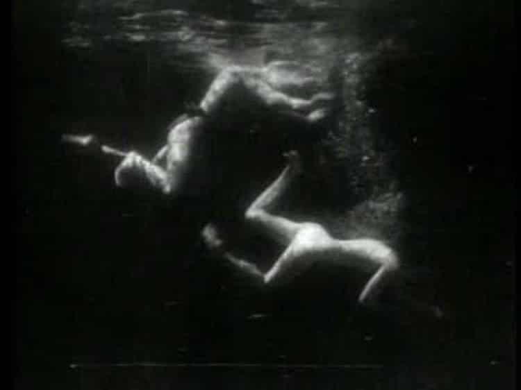 Ballet nautique de Tarzan et Jane