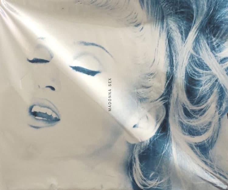 Couverture livre Madonna Sex