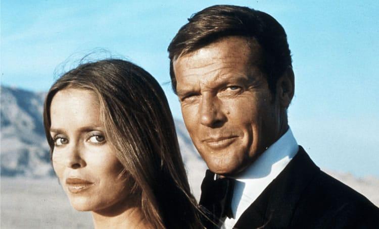 L'espion qui m'aimait avec Barbara Bach et Roger Moore