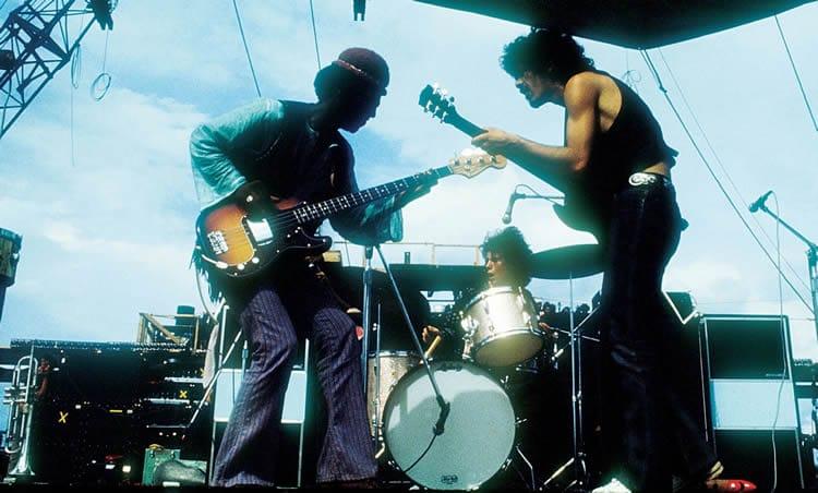 Santana à Woodstock