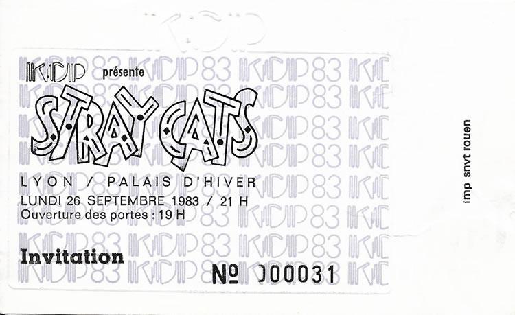 Stray Cats et Brian Setzer au palais d'Hiver