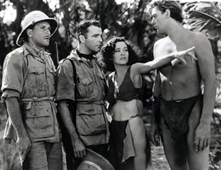 Tarzan en famille