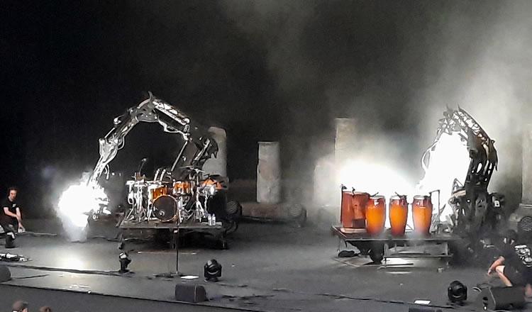 Les machines infernales d'Orange Blossom