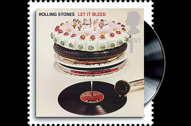 Le timbre Let It Bleed