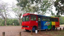 Our tour bus - with the best guide