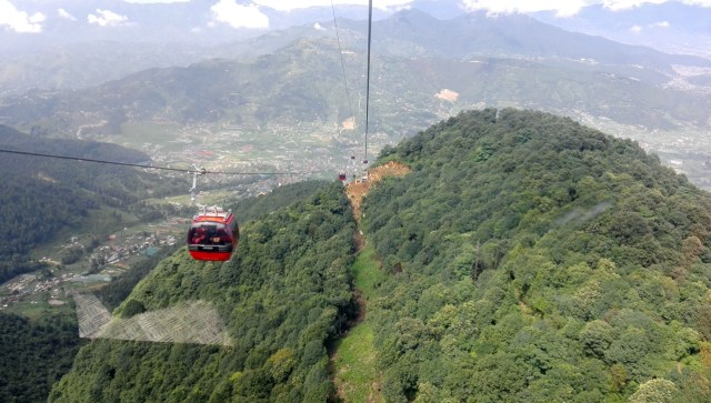 Chandragiri Cable Car 3