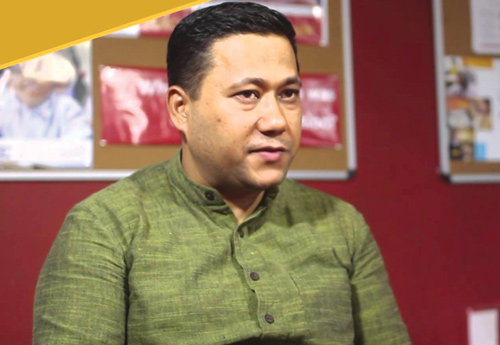 Shisir Khanal, a Master's graduate in International Public Affairs from the University of Wisconsin-Madison in the US, is the CEO of Teach for Nepal.