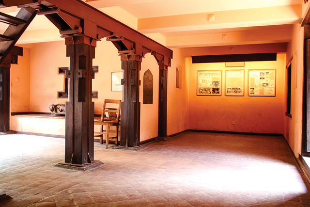 Steel trusses were also used in the restoration of the Patan Darbar and Museum