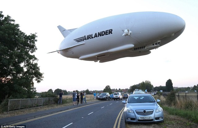 The world's largest aircraft has taken to the skies in a successful maiden voyage - the first since a revamp in Britain